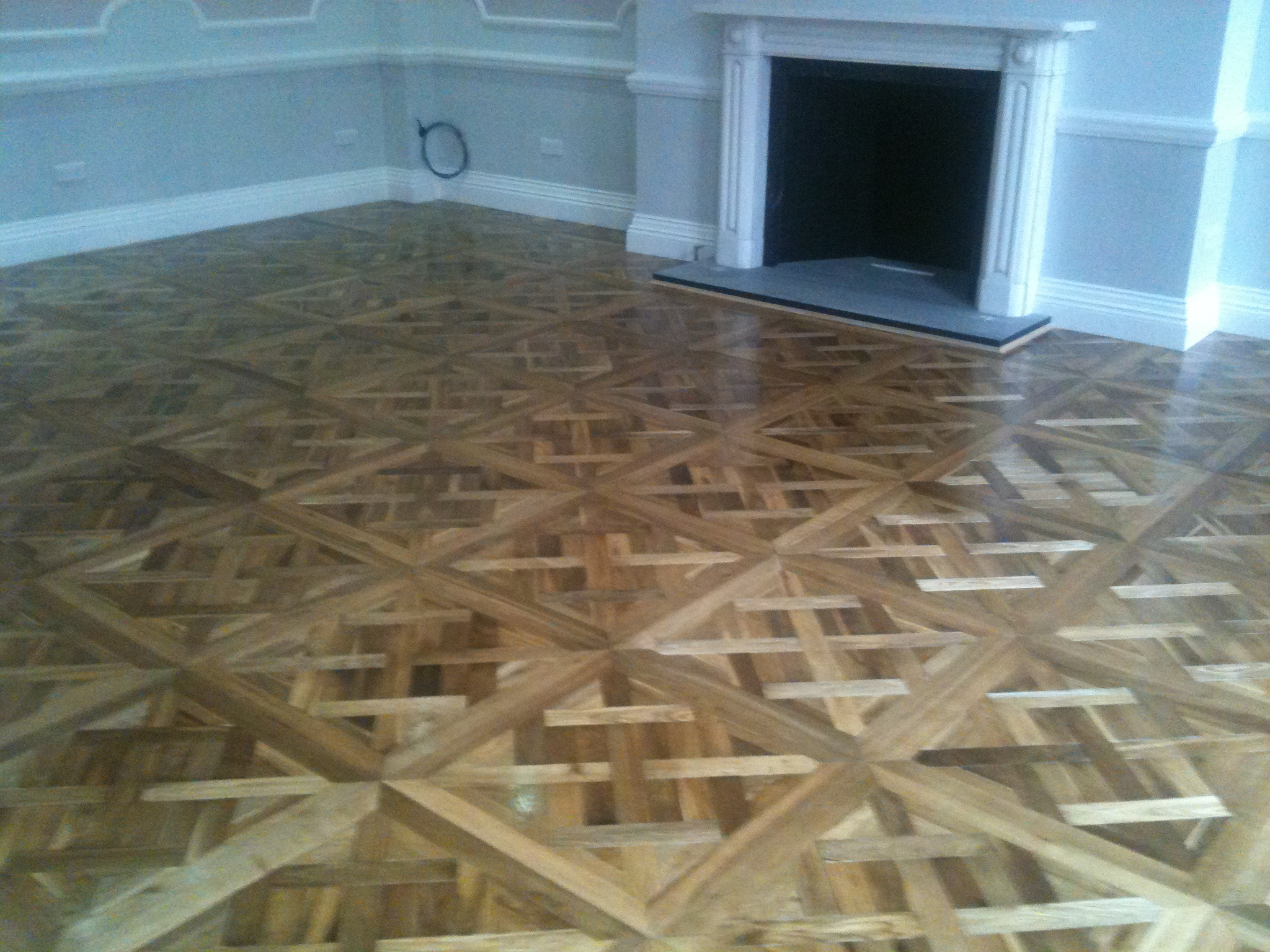 Installation of Wood Panels